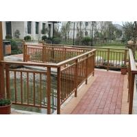 博盾特別定制仿木紋鋅鋼護欄陽臺護欄樓梯扶手花園圍欄