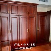 长沙市定制家具厂图纸、原木酒柜、衣柜门定制辉派规模