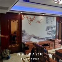 长沙原木整体家具软装、原木展柜、隔断柜定制厂家货期