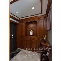 长沙原木定制家具风格、原木书柜、餐边柜定制厂家产品