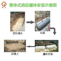 晨工水泥雨水收集无渗漏可定制生产直销价格实惠