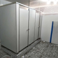 公共厕所隔断 公共卫生铝蜂窝板隔断 铝合金蜂窝板
