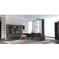 办公家具2.4米办公台老板台轻奢风格办公家具
