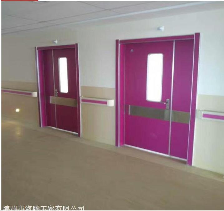 新型医院造型门   防撞设计医院门