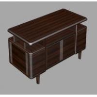 书桌——海杰2021新品乌金木家具系列
