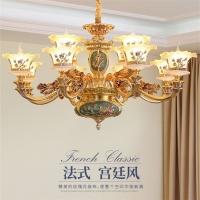 供应法式吊灯珐琅彩工艺吊灯皇室宫廷复刻灯饰家居客厅吊灯