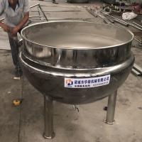 廣州潮汕鹽焗雞專用夾層鍋華鑄機械