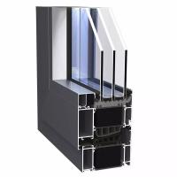 华建易欧思系统门窗ES101系列被动窗,专为被动房研发的高隔