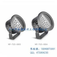 户外照明投射灯led投光灯54W60W圆形防水红外无线遥控变