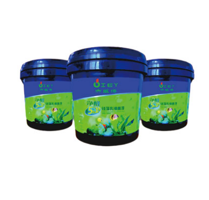 广州亦威漆净醛5合1硅藻乳墙面漆厂家批发价格
