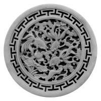 青砖浮雕圆形-2
