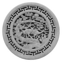 青砖浮雕圆形-3