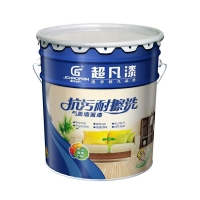 超凡漆厂家直供各色乳胶漆 耐水洗的墙面漆