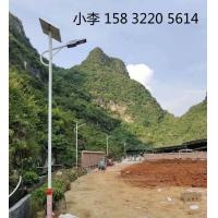 清苑6米30瓦太阳能路灯农村小区庭院安装