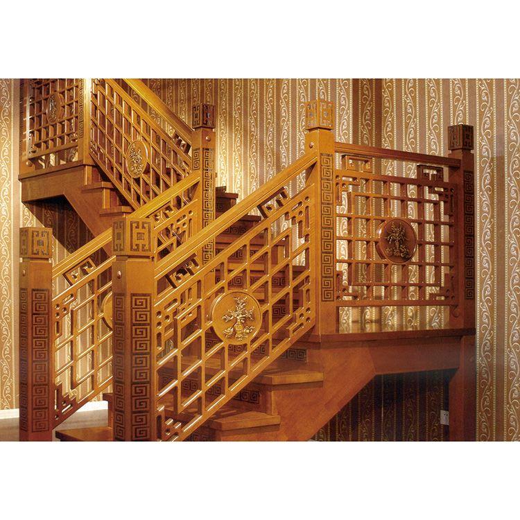 南京实木楼梯厂-南京红灯楼梯