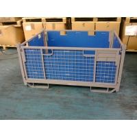 蘇州折疊金屬物流網箱生產銷售