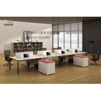 双人组合板式屏风办公桌/简约办公桌/广州欧丽办公桌定做