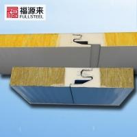 聚氨酯封边夹芯板-金属幕墙岩棉夹芯板