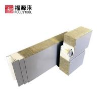 暗扣隐藏式金属幕墙板,外墙面横装岩棉夹芯板