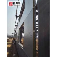 横装彩钢岩棉板,钢结构厂房外墙横装岩棉夹芯板