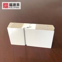岩棉聚氨酯封边夹芯板-聚氨酯侧封岩棉复合板
