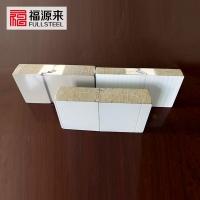 隐藏式聚氨酯岩棉板,横装聚氨酯岩棉外墙板
