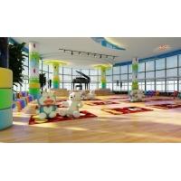 幼兒園老師鐘愛PVC地板,由幻彩呈現