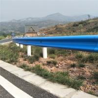 陕西铜川波形梁钢板护栏GR-B-4E热镀锌喷塑防撞栏波形护栏