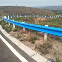 陕西西安高速护栏板热镀锌喷塑乡村道路护栏防护栏波纹板