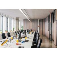 鑫广意会议桌椅白色长方形企业会议室家具批发