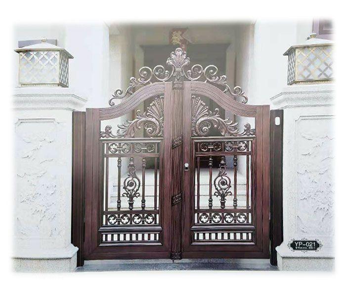 南京联润铁艺不锈钢装饰-铝艺大门系列