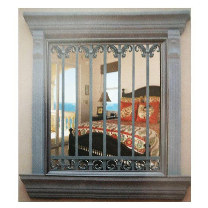 南京联润铁艺不锈钢装饰-铝艺防护窗