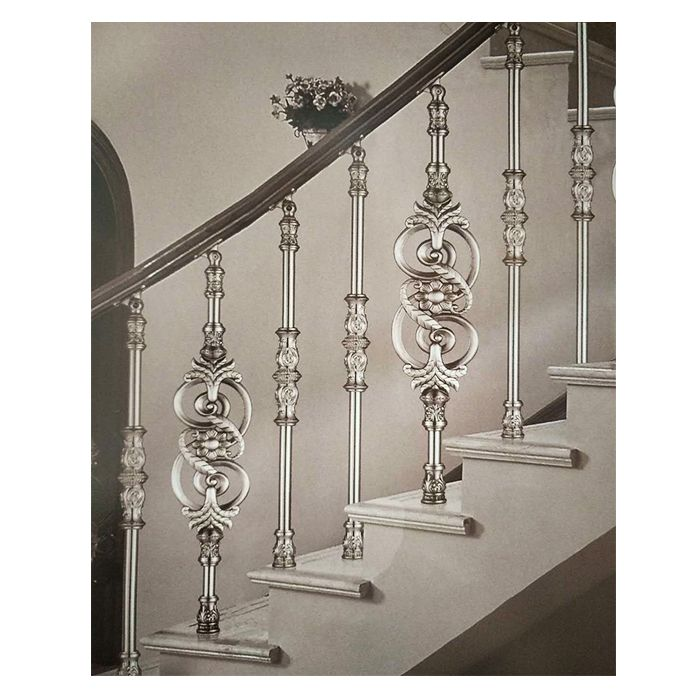 南京联润铁艺不锈钢装饰-铝艺楼梯扶手栏杆
