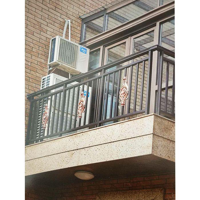 南京联润铁艺不锈钢装饰-铝艺阳台扶手栏杆