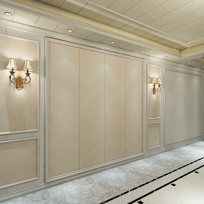 竹木纤维护墙板 集成5D背景墙板 快装墙面板