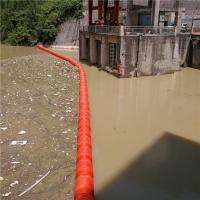 水库湖泊水草藻类拦截浮体 水上油污拦截浮排