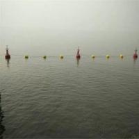 浮筒式禁航標志 河道攔河索,核心區攔船浮標