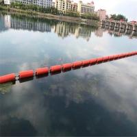 閩清水口水電站用塑料浮筒攔污漂案例
