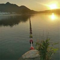 成都水深警示浮球 水库禁止游泳围栏浮球厂家
