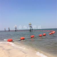 海边浴场安全警戒线浮球 防鲨网隔离浮漂