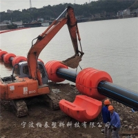 宁波355管道浮体 疏浚管浮筒 抽沙胶管浮筒