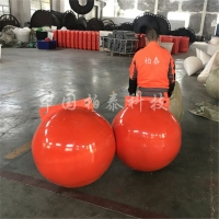 80cm海洋浮球 柏泰lldpe聚乙烯浮球批发价格