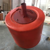 红色塑料浮漂球 锥形塑料浮标