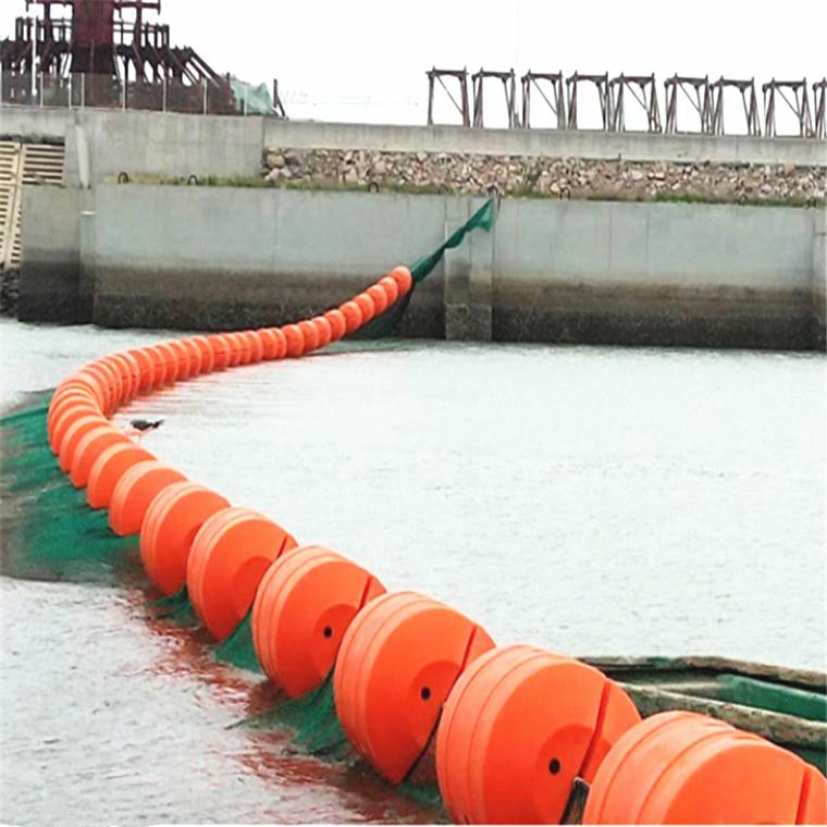 金沙江大壩800*1000攔污漂排浮筒