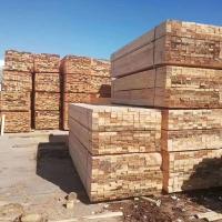 辐射松实木集成板材工程工地用建筑木方定制 沪兴木业