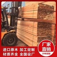 滬興木業工程方木鐵杉價格表杉木建筑木方各種規格定制