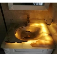 玉石洗手盆