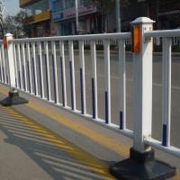 太原馬路邊鐵藝護欄 道路市政隔離防護欄桿工地通道圍擋
