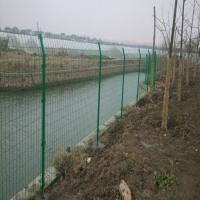 河北 蓄水池防護網欄 水庫水渠鐵絲網圍欄 河道邊護欄網