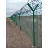 云南機場刀片刺絲滾籠護欄網 Y型柱鋼網墻隔離網圍界圍欄